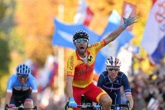 Alejandro Valverde. ¡Campeón del mundo!